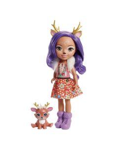 Boneca Grande Enchantimals FRH51 Mattel - Danessa Deer