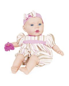 Boneca Life Baby Bebezinho 2169 Cotiplás - Rosa