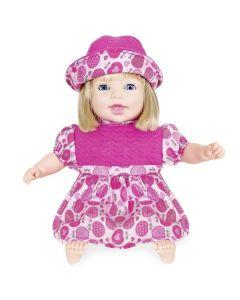 Boneca Life Baby Canta e Recita 2163 Cotiplás - Rosa