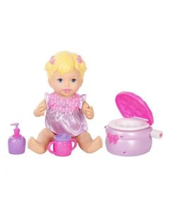 Boneca Little Mommy Peniquinho Fisher-Price - Rosa