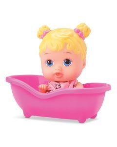 Boneca Little Dolls Banheirinha Loira DiverToys - 8022