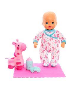 Boneca Little Mommy Doces Sonhos com Girafinha Mattel - ROSA