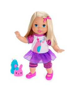 Boneca Little Mommy Fala Comigo Fisher-Price - Rosa