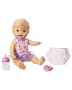 Boneca Little Mommy Faz Xixi Fisher-Price - Rosa