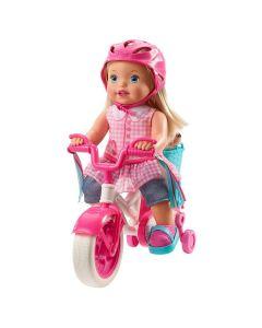 Boneca Little Mommy Meu Primeiro Passeio Mattel - ROSA