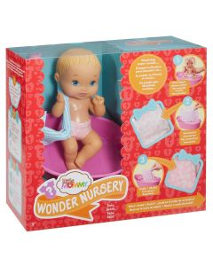 Boneca Little Mommy Surpresas Mágicas Fisher-Price - Loira