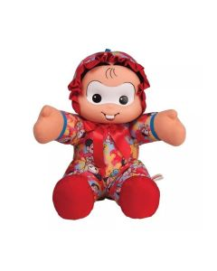 Boneca Mônica Baby 4240 Multibrink - Vermelho
