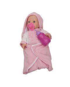 Boneca Mantinha 1017 Miketa - Rosa