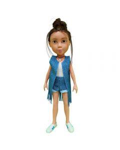 Boneca Melissa Planeta das Gêmeas ZR Toys - C3061 - Colorida