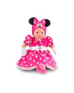 Boneca Minnie Recém Nascido 5162 Roma Brinquedos - Rosa