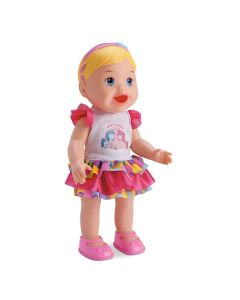 Boneca My Little Come e Faz Caquinha 8021 Divertoys - Rosa