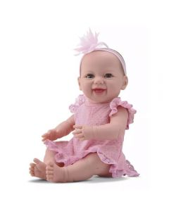 Boneca New Born Dengo Divertoys - 8076 - Rosa