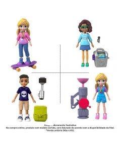 Boneca Polly Pocket Ativa Mattel - FTP67
