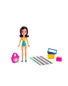 Boneca Polly Pocket Parque Aquático Mattel - Crissy