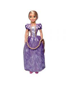 Boneca Princesa Rapunzel Baby Brink - 2000 - Lilás