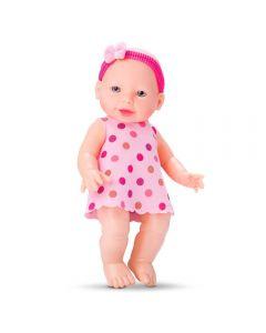 Boneca Tata Baby 636 Divertoys - Rosa