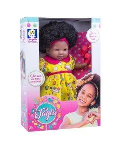 Boneca Tayla 2281 Cotiplás - Amarelo