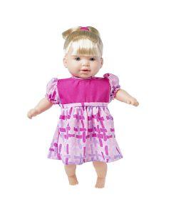 Boneca Totsy com Cabelo 331 Super Toys - Rosa