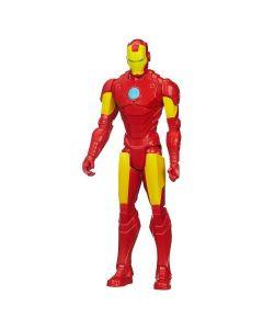 Boneco Avengers Iron Man Titan Hero Hasbro - Vermelho