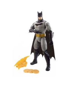 Boneco Batman Ataque dos Discos FVM67 Mattel - Preto