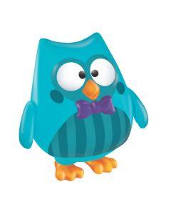 Boneco Bubu Pai Vinil 2729 Líder Brinquedos - Azul