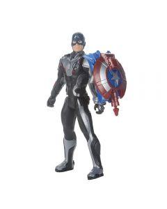Boneco Capitão América Vingadores Power FX 2.0 Hasbro - E3301