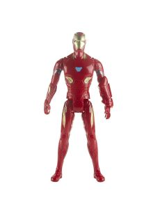 Boneco Homem de Ferro Vingadores Titan Hero 2.0 Hasbro - Vermelho