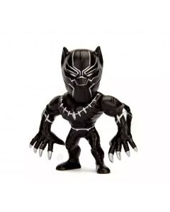Boneco Marvel Metal 10cm 3899 DTC - Pantera Negra