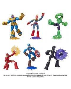 Boneco Marvel Vingadores Bend And Flex Hasbro - E7377