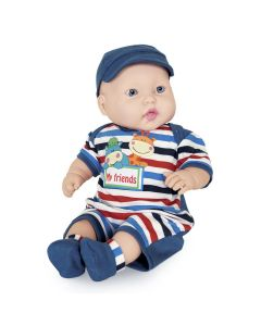 Boneco Miyo Menino 2246 Cotiplás - Azul