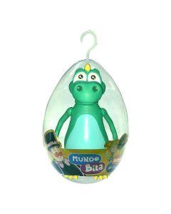 Boneco no Ovo Mundo Bita 2811 Lider Brinquedos - Dinossauro