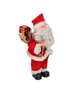 Boneco Papai Noel com Óculos 35cm  Havan - Vermelho
