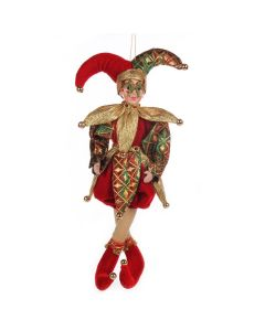 Boneco Pierro 35cm Santini - Dourado