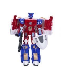 Boneco Robô Transformável Super Phanton 08276 Buba - Vermelho