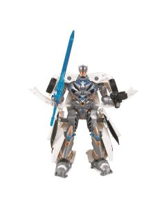 Boneco Robô Transformável Storm Force 08278 Buba - Branco