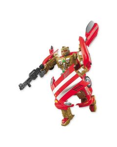 Boneco Robô Transformável Super Phanton 08275 Buba - Vermelho