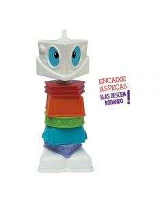 Boneco Robotz Monte seu Robo 1096 Elka - Colorido