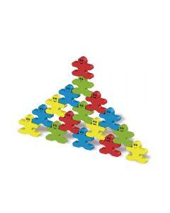 Bonecos Equilibristas 32 Peças 4165 Maral - Colorido
