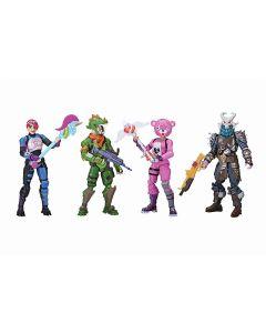 Bonecos Fortnite Esquadrão com 04 Figuras 2059 Sunny - Colorido