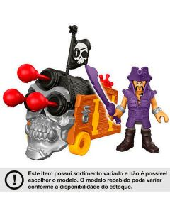 Bonecos Imaginext - Piratas Básico - Pirate Basic - Ref. DHH73 - Fisher-Price - Mattel - DIVERSOS