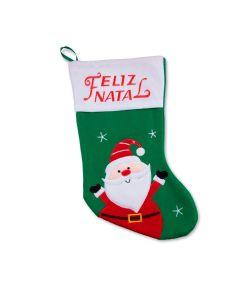 Bota Natalina do Papai Noel Havan - Verde