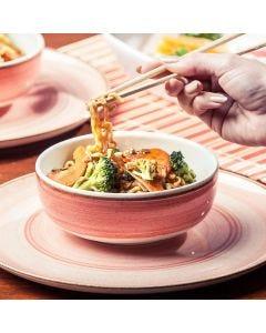 Bowl Caoba 623ml Rosado Corona - Ceramica