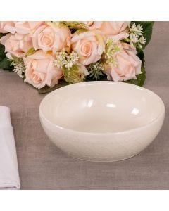 Bowl Corona Relieve 523ml - Branco
