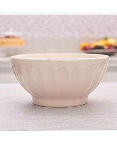 Bowl De Cerâmica 2,5 Litros Solecasa - Creme