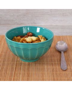 Bowl de Cerâmica 400ml Caribe Corona  - Turquesa