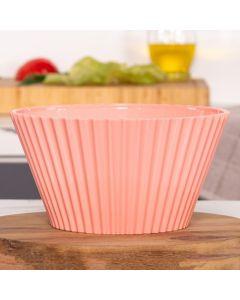 Bowl de Plástico 2 Litros Solecasa - Salmao