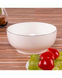 Bowl de Porcelana Bone China 1 Litro Finecasa - Branco