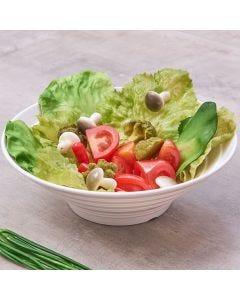 Bowl para Salada Melamina Jade Oval - Branco