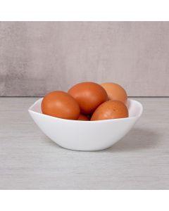 Bowl Quadrado Opaline Santorini 430ml Havan - Branco