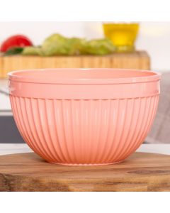 Bowl Redondo 2 Litros Solecasa - Salmao